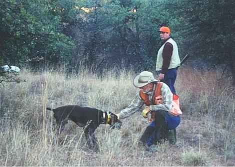 Jeff-Nice shot-nice retrieve
